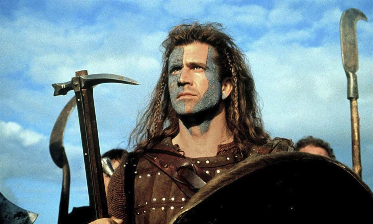 Braveheart is listed (or ranked) 3 on the list The Least Accurate Movies About Historical Figures