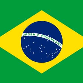 Brazil is listed (or ranked) 15 on the list The Prettiest Flags in the World