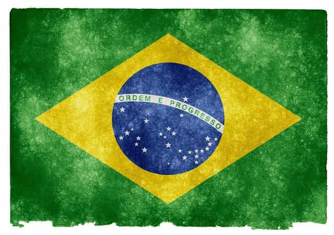 Brazil is listed (or ranked) 3 on the list The Coolest National Flags