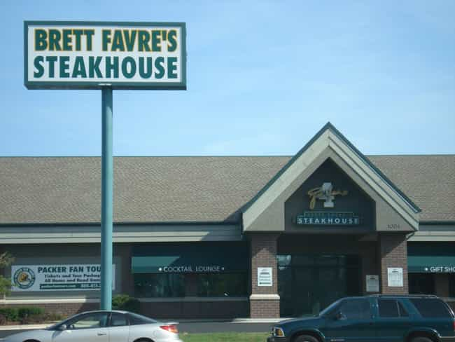 Brett Favre is listed (or ranked) 2 on the list Athletes Who Own Restaurants