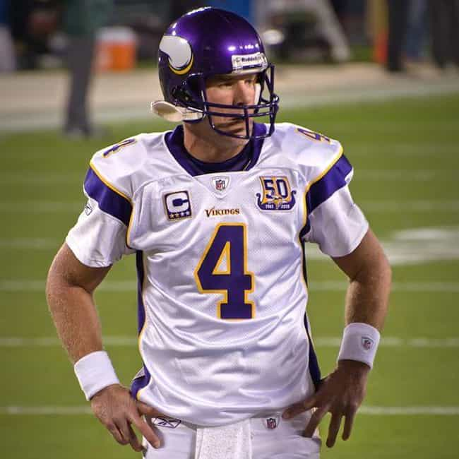 Brett Favre is listed (or ranked) 3 on the list The Best Athletes Who Wore #4