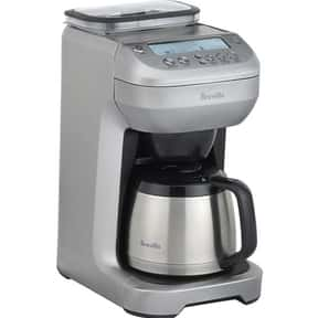 Breville is listed (or ranked) 14 on the list The Best Coffee Maker Brands