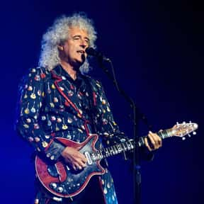 Brian May is listed (or ranked) 13 on the list Famous Guitarists from England