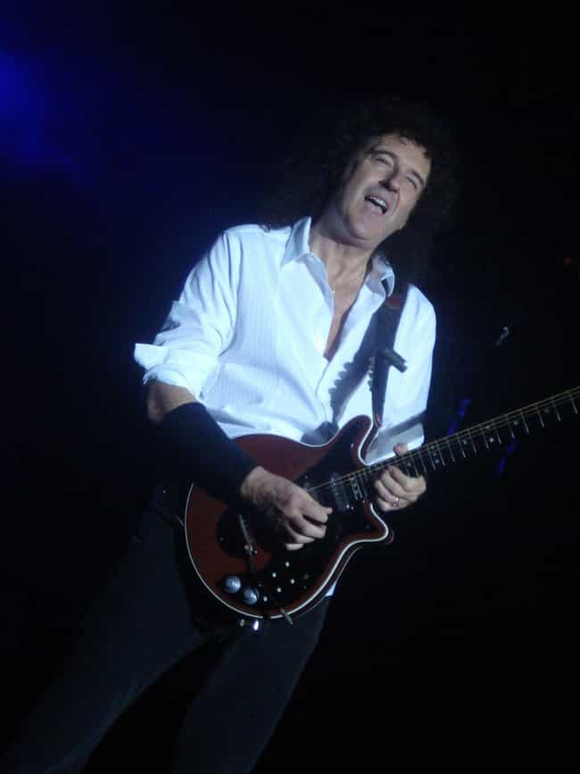 Brian May is listed (or ranked) 2 on the list Which Guitarist Are You Based On Your Zodiac Sign?
