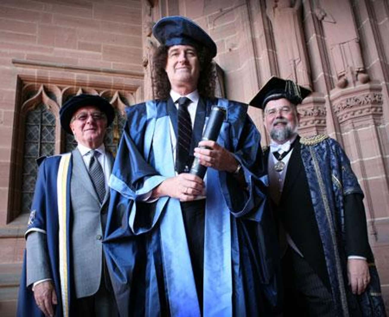 Brian May is listed (or ranked) 2 on the list 14 Famous People Who Have PhDs