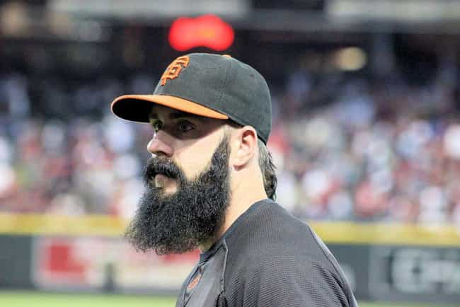 Brian Wilson is listed (or ranked) 4 on the list Athletes with the Best Facial Hair