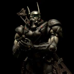Briareos Hecatonchires is listed (or ranked) 14 on the list The Best Cyborg Anime Characters