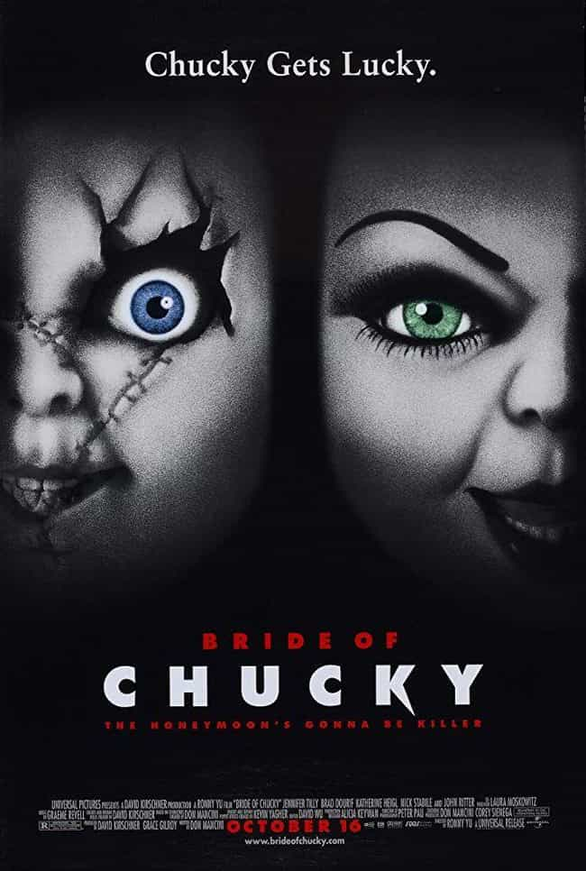 Bride of Chucky is listed (or ranked) 4 on the list Every Movie In The 'Child's Play' Franchise, Ranked