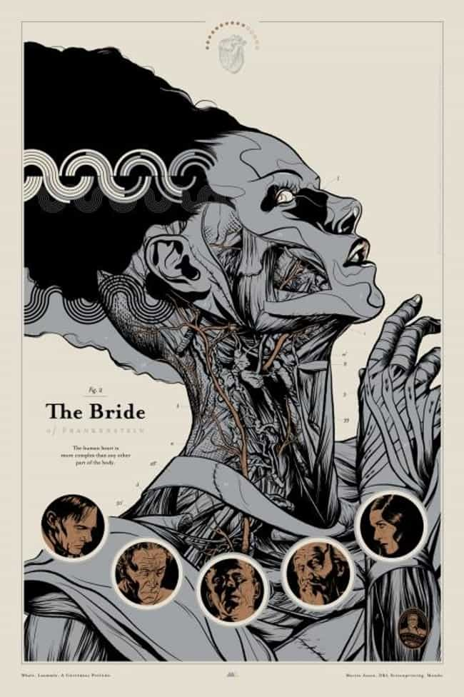 Bride of Frankenstein is listed (or ranked) 4 on the list The Best Mondo Movie Posters (From The Alamo Drafthouse)