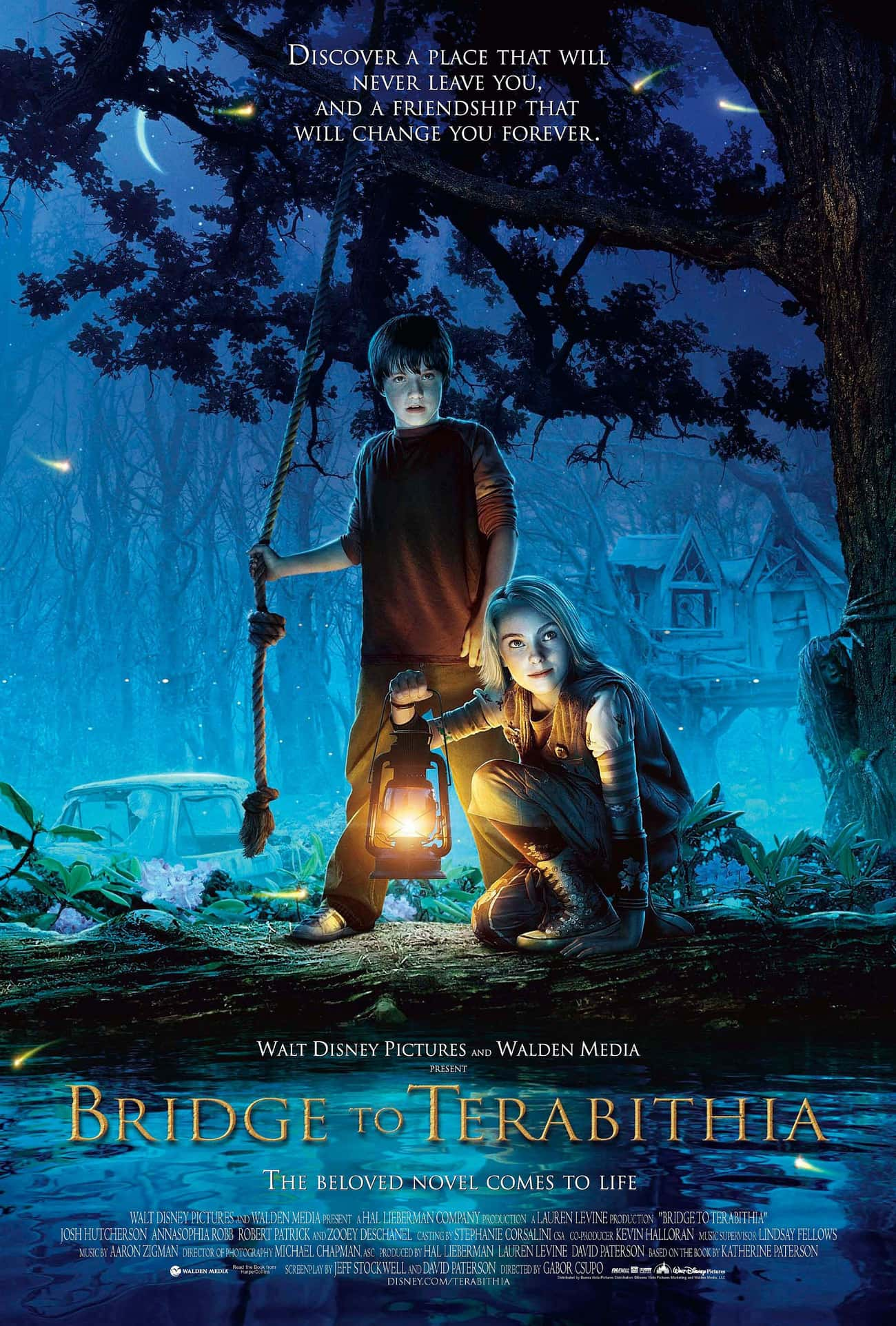 Bridge to Terabithia is listed (or ranked) 1 on the list Movies & TV Shows to Watch If You Love Wonder