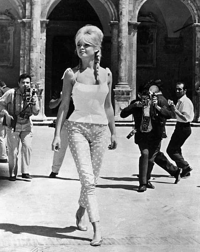 Brigitte Bardot is listed (or ranked) 3 on the list The Top Celebrity Fashion Icons of All Time