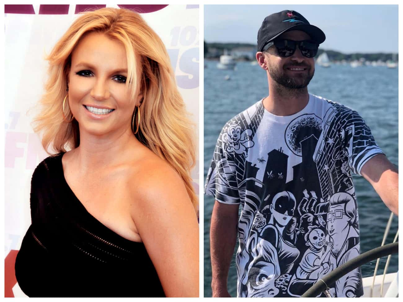 Britney Spears And Justin Timb is listed (or ranked) 1 on the list Celebrities Who Broke Up But Still Remained Close With Their Exes