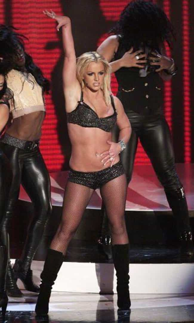 Britney Spears is listed (or ranked) 2 on the list Here's What Your Favorite Celebrities Looked Like At The 2007 MTV VMAs