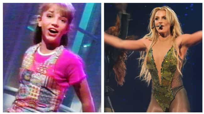 Britney Spears is listed (or ranked) 1 on the list Mickey Mouse Club: Where Are They Now?