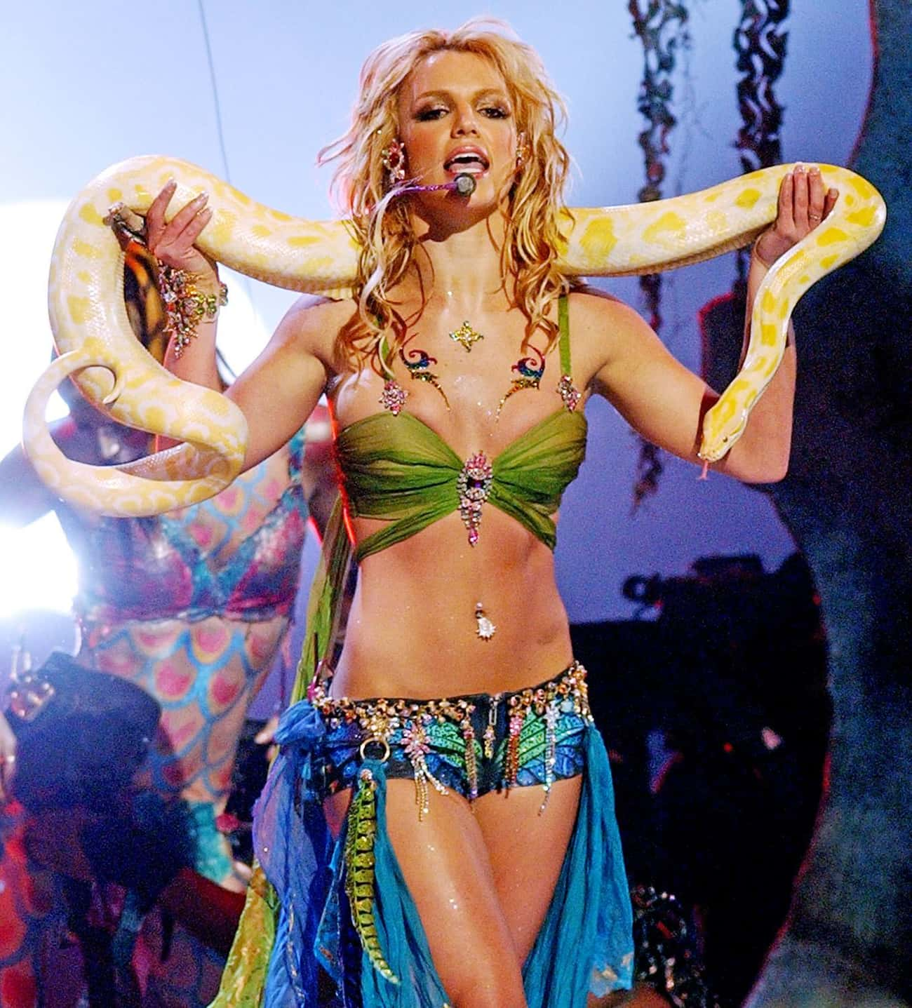 Britney Spears, 2001 is listed (or ranked) 3 on the list Famous People Who Gained Weight