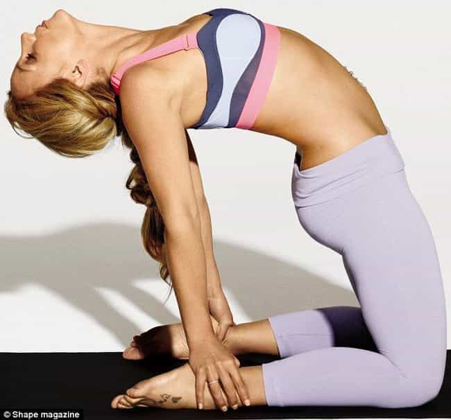 Britney Spears is listed (or ranked) 4 on the list 70+ Celebrities Who Do Yoga
