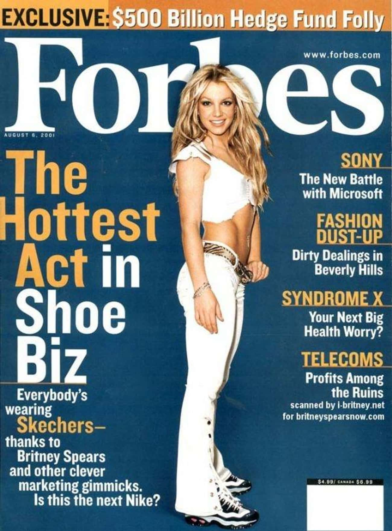 Britney Spears is listed (or ranked) 2 on the list The Best Forbes Covers