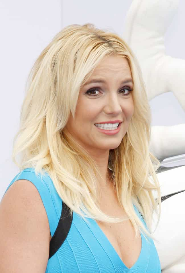Britney Spears is listed (or ranked) 2 on the list Celebrities With Dissociative Identity Disorder