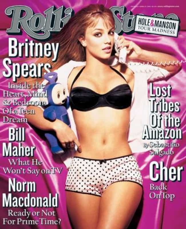 Britney Spears is listed (or ranked) 4 on the list The Best Rolling Stone Covers