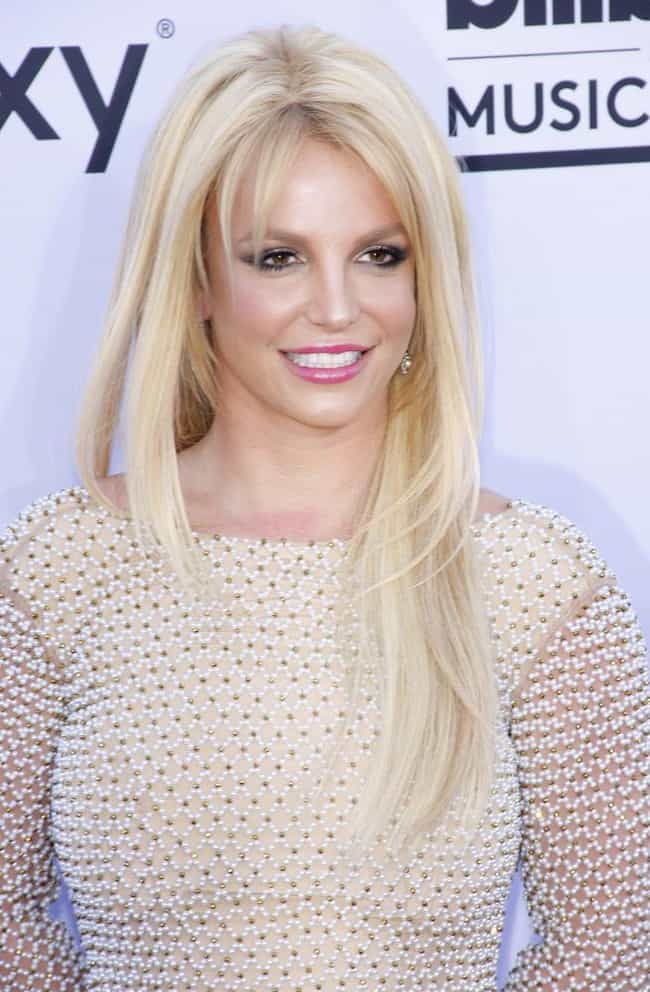 Britney Spears is listed (or ranked) 3 on the list Celebrities Afraid of Flying