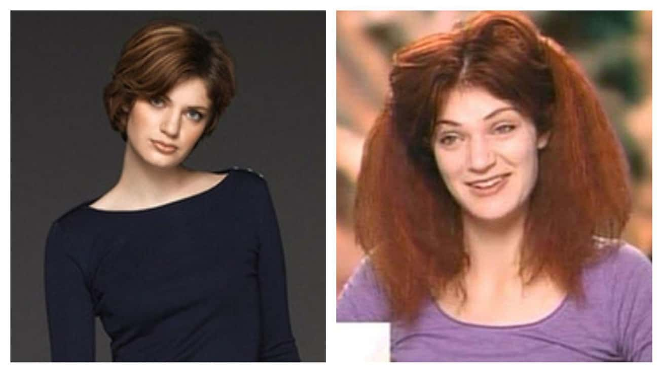 Brittany Hatch's Crazy Red Nig is listed (or ranked) 1 on the list The 15 Worst America's Next Top Model Makeovers Of All Time