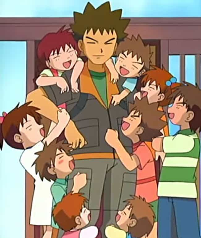 Brock is listed (or ranked) 3 on the list 14 Anime Teenagers Who Live Alone For Some Reason