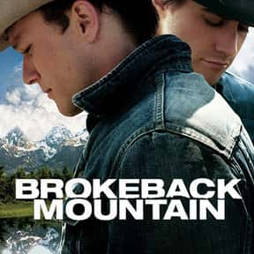 Brokeback Mountain is listed (or ranked) 2 on the list The Best LGBTQ+ Drama Films