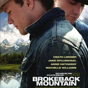 Brokeback Mountain is listed (or ranked) 11 on the list 30+ Great Period Films with a 1960s Aesthetic