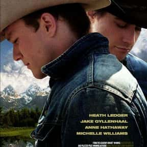 Brokeback Mountain is listed (or ranked) 19 on the list The Best Movies About Tragedies
