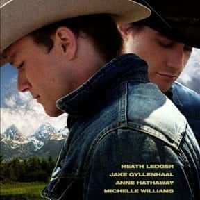 Brokeback Mountain is listed (or ranked) 21 on the list The Best Romance Movies Rated R
