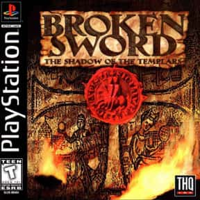Broken Sword: The Shadow of th is listed (or ranked) 2 on the list The Best Point and Click Adventure Games Of All Time