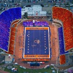 Bronco Stadium is listed (or ranked) 10 on the list The Best College Football Stadiums