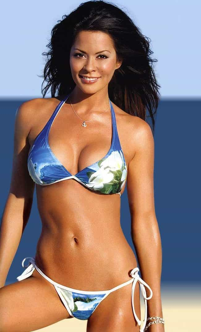 Brooke Burke Charvet is listed (or ranked) 3 on the list The Hottest Models Who Went to College