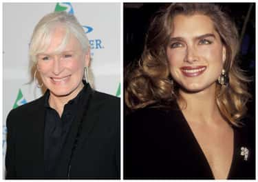 Glenn Close & Brooke Shields is listed (or ranked) 1 on the list 19 Sets of Famous Cousins