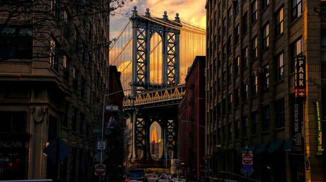 Brooklyn Bridge is listed (or ranked) 3 on the list 15 Things Americans Love That Were Invented by Immigrants