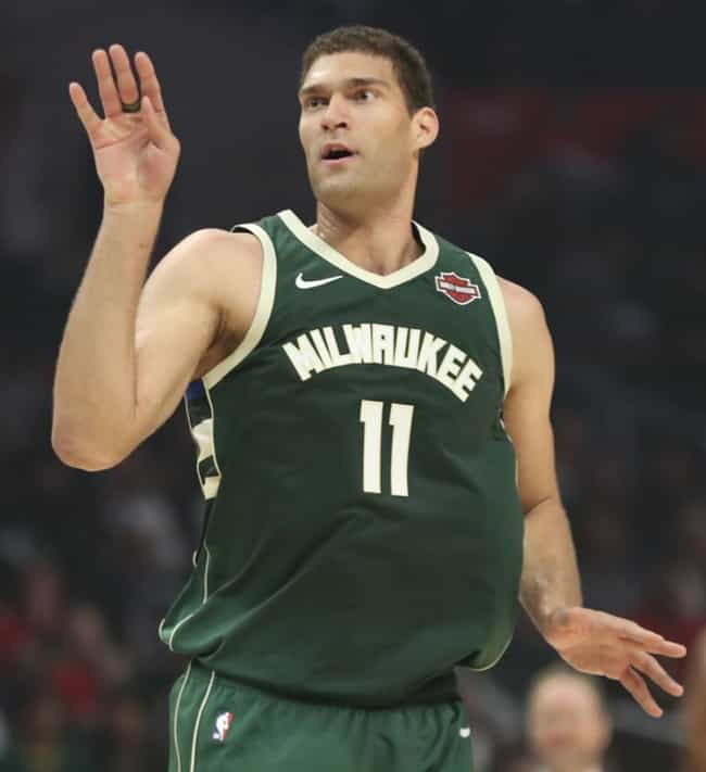 Brook Lopez is listed (or ranked) 4 on the list Every Player Over 7 Feet Tall In The NBA Today, Ranked