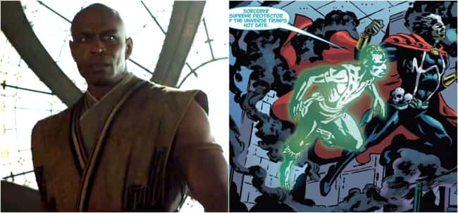 Daniel Drumm after being perished in his prime in Doctor Strange, puts Jericho as the Brother in Brother Voodoo.