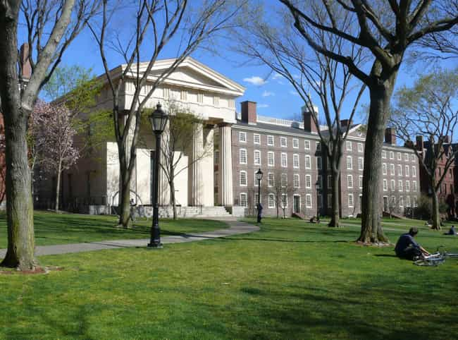 Brown University is listed (or ranked) 1 on the list All Ivy League Schools