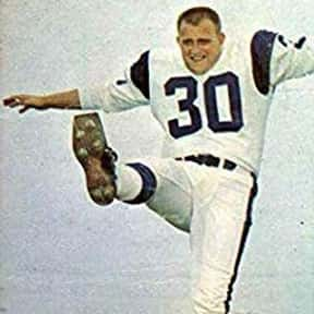Bruce Gossett is listed (or ranked) 5 on the list The Best Los Angeles Rams Kickers Of All Time