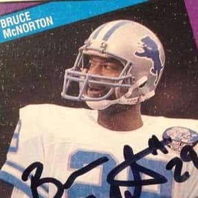 Bruce McNorton is listed (or ranked) 10 on the list The Best Detroit Lions Cornerbacks Of All Time