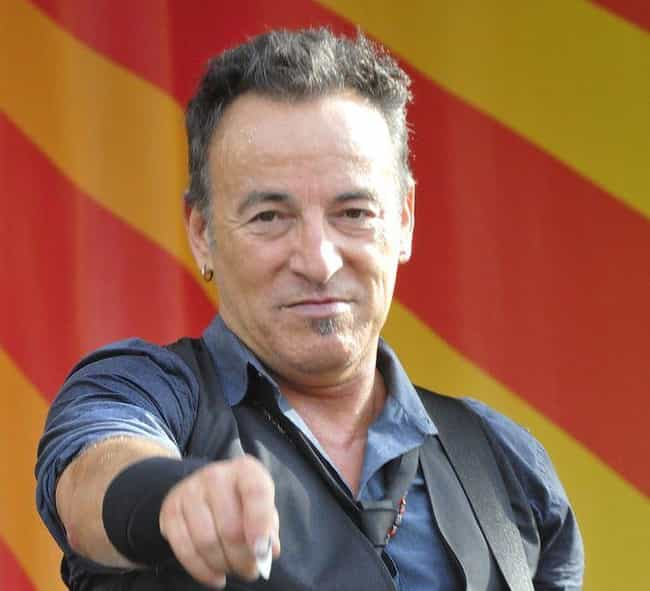 Bruce Springsteen is listed (or ranked) 3 on the list Famous People Born in 1949