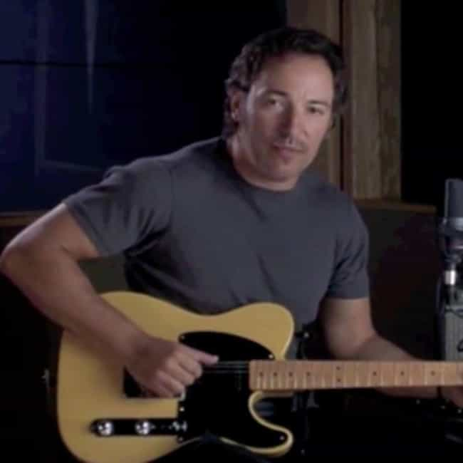 Bruce Springsteen is listed (or ranked) 7 on the list Tiny Movie Cameos By Super Famous People