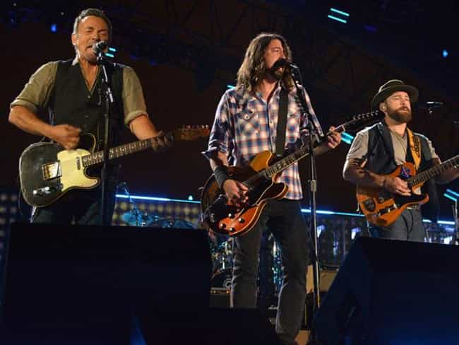 Bruce Springsteen is listed (or ranked) 3 on the list Famous Friends of Dave Grohl