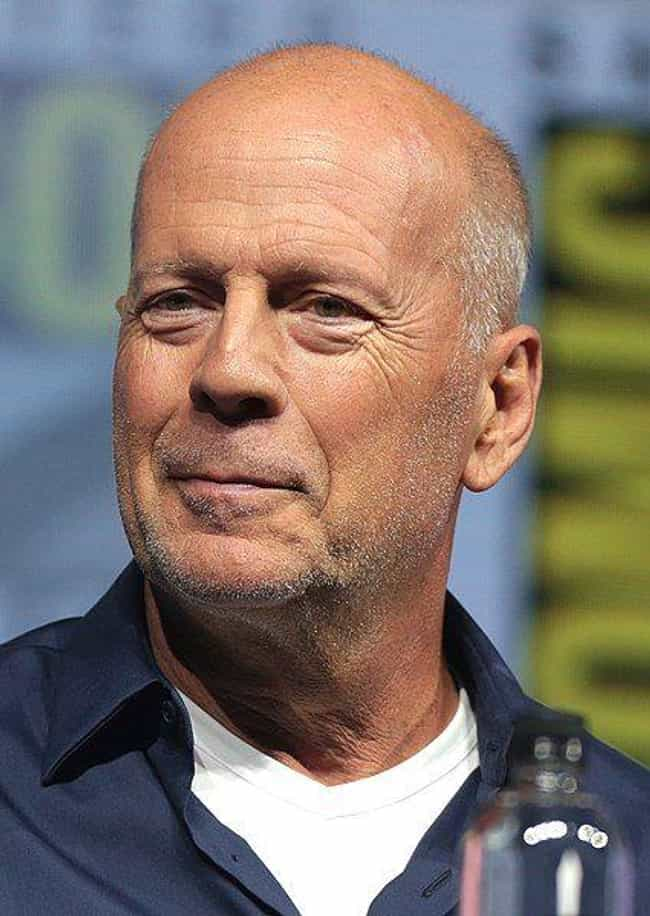 Bruce Willis is listed (or ranked) 2 on the list The Hottest Bald Men