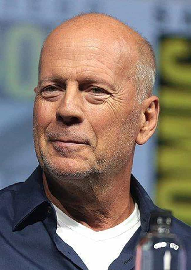 Bruce Willis is listed (or ranked) 2 on the list Celebrities Who Wrestled in School