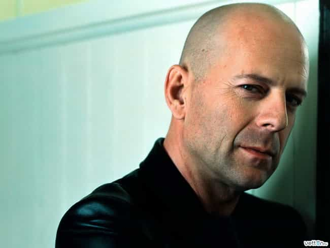 Bruce Willis is listed (or ranked) 3 on the list The Hottest Bald Men