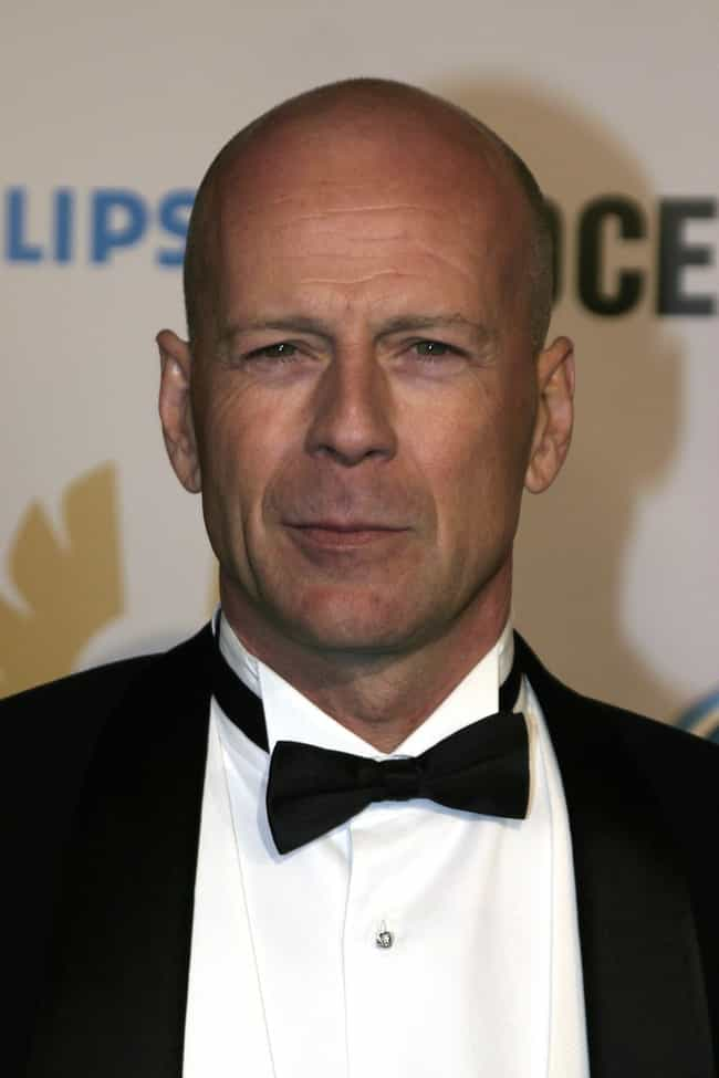 Bruce Willis is listed (or ranked) 4 on the list 35 Famous People Who Stutter