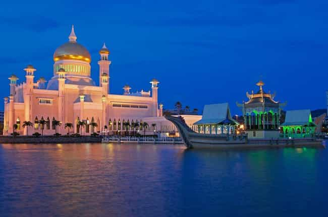 Brunei is listed (or ranked) 1 on the list Countries in Southeast Asia