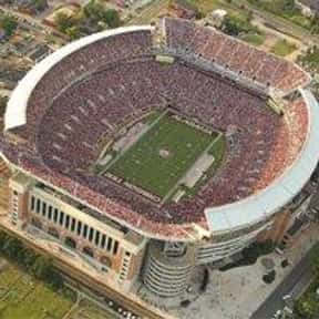 Bryant–Denny Stadium is listed (or ranked) 8 on the list The Best College Football Stadiums