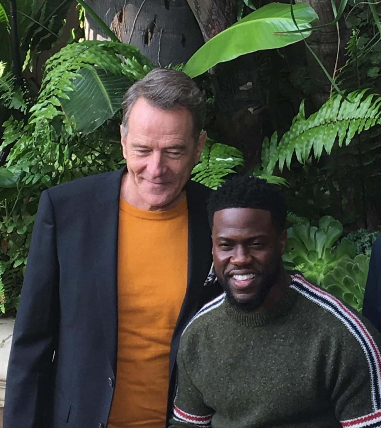 Bryan Cranston is listed (or ranked) 2 on the list 20+ Famous Friends Of Kevin Hart